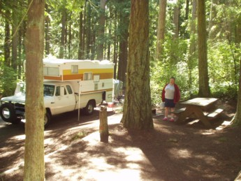 Camped at Sequim for the night